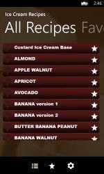Captura 2 de Ice Cream Recipes para windows