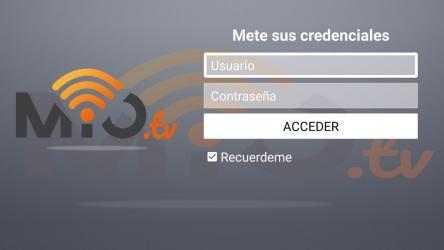Captura de Pantalla 3 de Mio TV para android