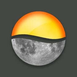 Screenshot 1 de Sundroid: Sunrise and Sunset para android
