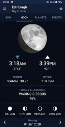 Captura de Pantalla 3 de Sundroid: Sunrise and Sunset para android