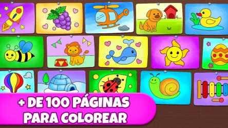 Captura 4 de Juegos de colorear: colores, pinturas y brillo para windows