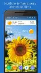 Captura de Pantalla 11 de Reloj y clima transparente para android