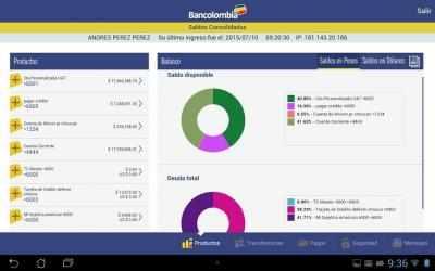 Captura de Pantalla 9 de Bancolombia App Personas para android