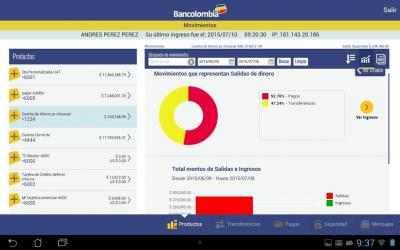 Captura 10 de Bancolombia App Personas para android