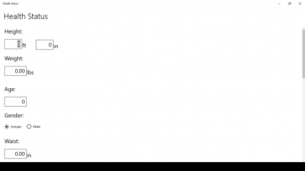 Captura 2 de Health Status para windows