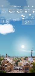 Captura de Pantalla 1 de Meteorología Exacta Yowindow para iphone
