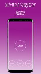 Screenshot 2 de Fuerte Vibrador Aplicación | Extremo Vibración para android