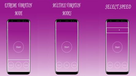 Screenshot 5 de Fuerte Vibrador Aplicación | Extremo Vibración para android