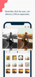 Captura 4 de FilmoraGo-Editor de Video para iphone