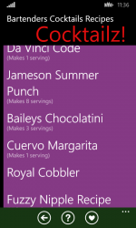 Imágen 4 de Bartenders Cocktails Recipes para windows