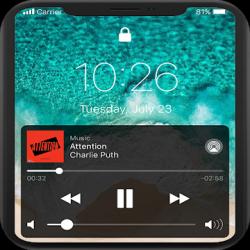 Captura 1 de Pantalla de bloqueo y notificaciones iOS 14 para android