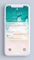 Captura 2 de Pantalla de bloqueo y notificaciones iOS 14 para android