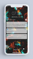Captura 5 de Pantalla de bloqueo y notificaciones iOS 14 para android