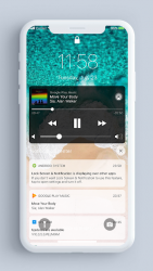 Imágen 3 de Pantalla de bloqueo y notificaciones iOS 14 para android