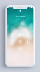 Screenshot 4 de Pantalla de bloqueo y notificaciones iOS 14 para android