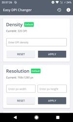 Captura de Pantalla 2 de Easy DPI Changer [Root] para android