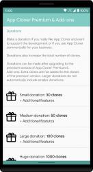 Captura 3 de App Cloner Premium & Add-ons para android
