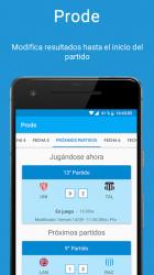 Captura 2 de ProdeCA - Quiniela - Champions y Eurocopa 2021 para android