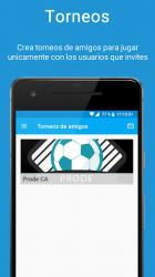Captura de Pantalla 3 de ProdeCA - Quiniela - Champions y Eurocopa 2021 para android