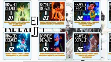 Screenshot 4 de BRAVELY DEFAULT II Game Walkthrough Video Guide para windows