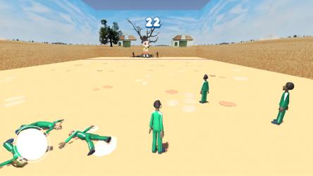 Captura 3 de squid game red light, green light para android