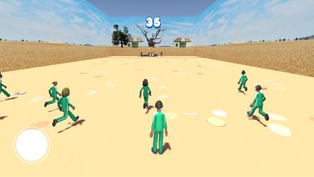 Captura 5 de squid game red light, green light para android