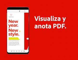 Screenshot 3 de Adobe Acrobat Reader: edite, escanee y envíe PDF para android