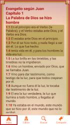 Screenshot 7 de La Biblia Pastoral Latinoamericana para android
