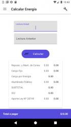 Screenshot 8 de Servicios Perú: Consulta Recibos de Luz y Otros para android