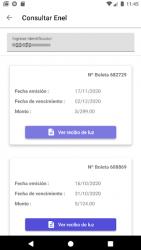 Screenshot 5 de Servicios Perú: Consulta Recibos de Luz y Otros para android