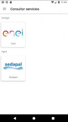 Captura de Pantalla 4 de Servicios Perú: Consulta Recibos de Luz y Otros para android