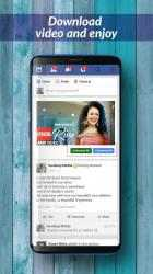 Captura de Pantalla 3 de Live Multi Video Downloader For Facebook para android
