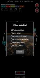 Screenshot 9 de Satélite Check- GPS estado y navegación para android