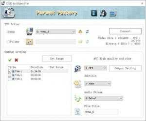 Screenshot 4 de FormatFactory para windows