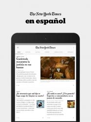 Imágen 5 de NYTimes en Español para android