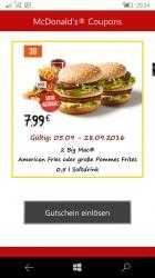 Captura de Pantalla 2 de Fast Food Coupons para windows