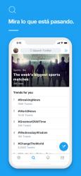 Screenshot 1 de Twitter para iphone