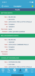 Screenshot 5 de Comuni d'Italia para iphone
