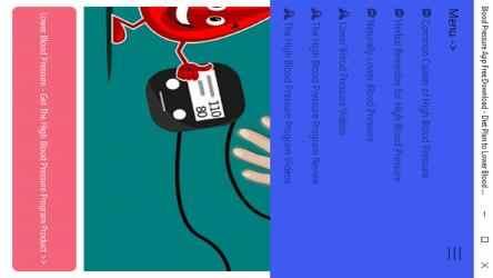 Captura 12 de Blood Pressure App Free Download - Diet Plan to Lower Blood Pressure para windows