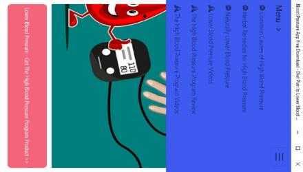 Captura de Pantalla 8 de Blood Pressure App Free Download - Diet Plan to Lower Blood Pressure para windows