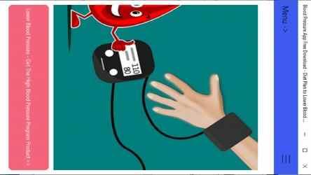 Captura 11 de Blood Pressure App Free Download - Diet Plan to Lower Blood Pressure para windows