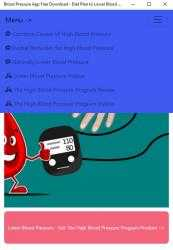 Screenshot 2 de Blood Pressure App Free Download - Diet Plan to Lower Blood Pressure para windows