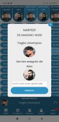 Screenshot 4 de BarberApp para android
