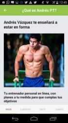 Imágen 3 de Andrés Vázquez: Entrenador Personal para android