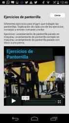 Captura de Pantalla 6 de Andrés Vázquez: Entrenador Personal para android