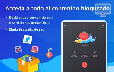 Captura 9 de VPN Tomato gratis | Veloz proxy VPN hotspot gratis para android