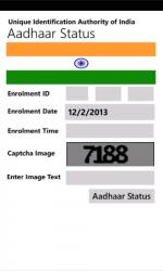 Screenshot 1 de Aadhaar_Card_Status para windows