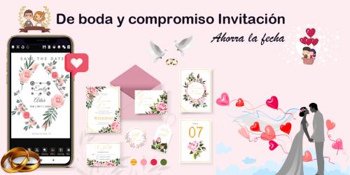 Screenshot 4 de Crear invitaciones 2020 cumpleaños, boda, tarjetas para android
