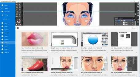 Screenshot 1 de Adobe Illustrator Easy To Use Guides para windows