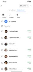 Screenshot 4 de Google Classroom para iphone